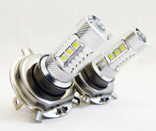 2x 100W CREE White H4 High Power LED 12V 24V DRL Daytime Running Low Beam Accent
