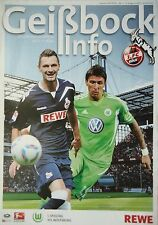 Geißbock Info 2011/12 1. FC Köln - VfL Wolfsburg