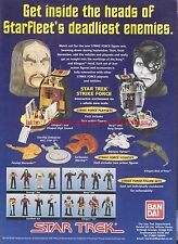 Star Trek Strike Force Figures 1997 Magazine Advert #7172