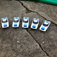 VINTAGE FIVE PIECE GROUP AURORA AFX SLOT CAR / LAZER / BLUE / G-PLUS / NICE!!!!!