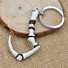 New Dota 2 Pudge Inscribed Dragon Hook Logo Keychain Pendant Key Ring Keychain