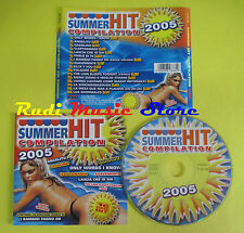 CD SUMMER HIT compilation 2005 DRUDI MARTINEZ NASSER B BEND no lp mc dvd (C15)