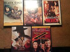 Antonio Banderas [5 DVD] Legende Maske des Zorro Mexico Pancho Villa Black Gold
