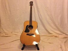 Aria Left Handed Acoustic Guitar