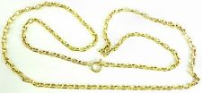 9ct Heavy solid gold 22 inch long yellow gold neck chain weighs 11.8 grams