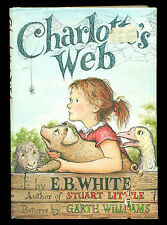 CHARLOTTE'S WEB by E.B. White !! Hardcover & Dust Jacket !!