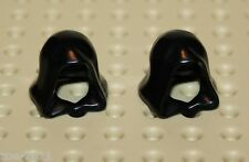 Lego 2x Black Minifig, Headgear Hood (30381) NEW!!!