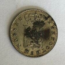 ANTIQUE GERMAN STATES GERMANY 6 KREUZER SILVER COIN 1835