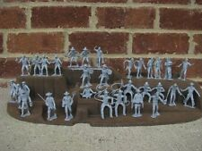 Marx Cowboys Miners Trappers Pioneers 1/32 54MM Toy Soldiers Western