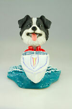 MOTOR BOAT BORDER COLLIE INTERCHANGABLE BODY SEE BREED & BODIES @ EBAY STORE