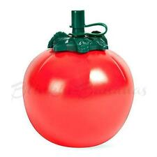 NEW RETRO ROUND PLASTIC RED TOMATO SHAPED KETCHUP SQUEEZY SAUCE BOTTLE DISPENSER