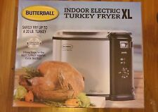 Masterbuilt XL Butterball 20 lb Turkey Deep Fryer Indoor Electric Food Steamer