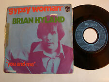 """BRYAN HYLAND : Gypsy woman / You and me 7"""" 45T 1970 French PHILIPS 6098 003"""