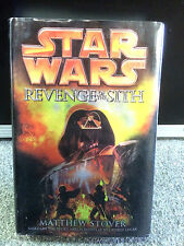 Star Wars Revenge of the Sith Book Episode III Matthew Stover 2005 1st Edition