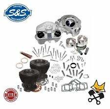 "S&S 80"" PISTON CYLINDER & HEAD TOP END KIT HARLEY 1979-84 SHOVELHEAD 90-0098"