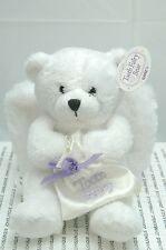 TOOTH FAIRY BEAR BY GANZ~NEW WITH TAG~6 INCHES~BAG FOR TEETH~CUTE~FREE US SHIP~
