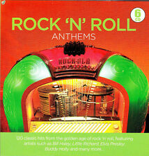 GOLDEN AGE OF ROCK N' ROLL .. 120 ORIGINAL HITS .. 1950'S-60'S .. 6 CD'S OLDIES