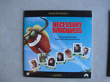 Vintage Necessary Roughness Movie Laserdisc Scott Bakula