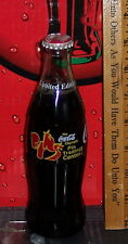 1996 ATLANTA OLYMPIC'S COCA COLA PIN TRADING CENTER 8 OZ COCA - COLA  BOTTLE