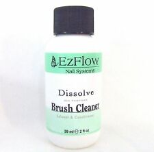 Ezflow Nail Acrylic Gel Brush Cleaner 2oz/59ml