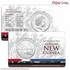 2014 RAM 50c Australia At War Series - German New Guinea - Coin In Card