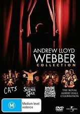 Andrew Lloyd Webber: Collection (Cats/Jesus Christ Superstar/Joseph) DVD NEW