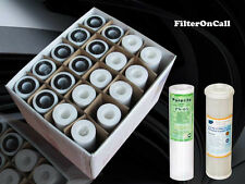 """20) 10"""" x 2.5""""  Sediment Carbon Water filters Reverse Osmosis Whole House Filter"""