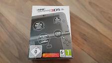 Nintendo nouveau 3DS XL noir métallisé. coffret avec game & accessoires vacances