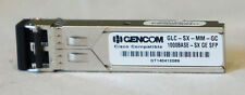 LOT OF 24 GBICS 20 * GENCOM GLC-SX-MM-GC GE SFP TRANSCEIVERS & 4 * GLC-SX-MM-GC
