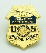Dept of Treasury Special Inspector General Special Agent Mini Badge Lapel Pin