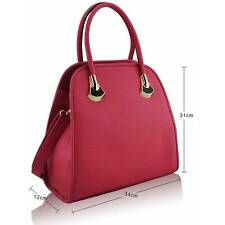 Designer Handbag Womens Faux Leather Shoulder Messenger Tote Purse Ladies Bag UK