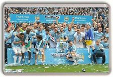 Manchester City Premier Leauge Champions 2014 Fridge Magnet 01 Man City