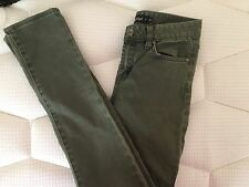 Sportsgirl Khaki Colored High Waisted Skinny Jeans Size 6