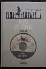 JAPAN Final Fantasy IV Piano Collections (Score Book) W/CD