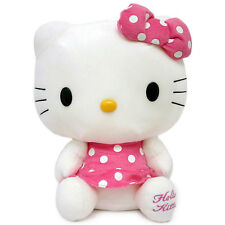 Sanrio Hello Kitty Jumbo Plush Doll Licensed Soft Stuffed Toy Pink Dots 26""