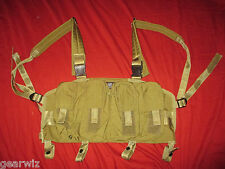 LBT 0290 Chest Rig (Rhodesian Chest Panel) Tan * NEW * SOCOM SEAL DEVGRU CAG