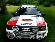 Audi Rallye Scheinwerferhalter Urquattro Coupe 85 81 lamp bracket rallyequattro