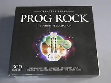 Greatest Ever Prog Rock: The Definitive Collection Mint 3 Cd Box Set