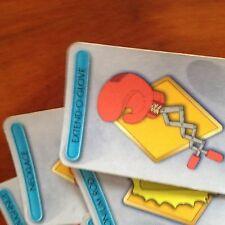 Cluedo GIOCO 'SIMPSON'S EDITION. SERIE completa di armi CARDS. ORIGINALE HASBRO PA