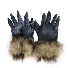 Horror Devil Halloween Werewolf Wolf Paws Claws Cosplay Gloves Costume Theater