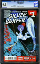 SILVER SURFER #1 - CGC 9.8 - FIRST PRINT - RELAUNCH - DAN SLOTT - SOLD OUT