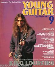 Young Guitar Magazine September 1998 Japan Angra Deep Purple Gov't Mule