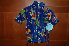 POOL BEACH BATH ROBE Size M 5 Child WIZARDS DRAGONS CASTLE NWT