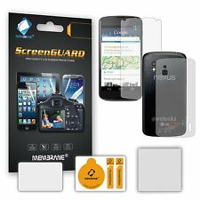 6 x (3 x Back; 3 x Front) Screen Protectors for LG E960 Google Nexus 4 - Guard