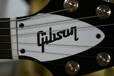 FLYING V TRUSS ROD COVER for GIbson guitar (White / Black)