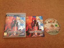 LAST REBELLION SONY PLAYSTATION 3 PS3 GAME WITH MANUAL OFFICIAL UK PAL VGC