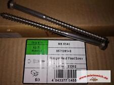 50 Stk. M 8x140 Holzschrauben Edelstahl A2 DIN 571 Edelstahlschrauben frei Haus