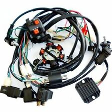 GY6 150cc QUAD ELECTRICS Stator Magneto Coil CDI Regulator Wire Loom Harness
