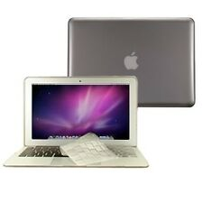 "2 in 1 Crystal GREY Hard Case for Macbook AIR 13"" A1369 with TPU Keyboard Cover"