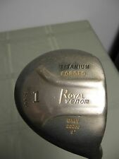 Royal Venom forged Titanium offset 8* Driver, Graphite reg. flex shaft - 46 3/4""
